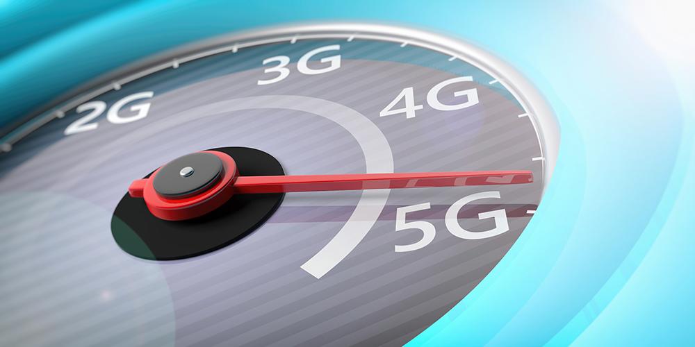5Gをスピードメーターで表している
